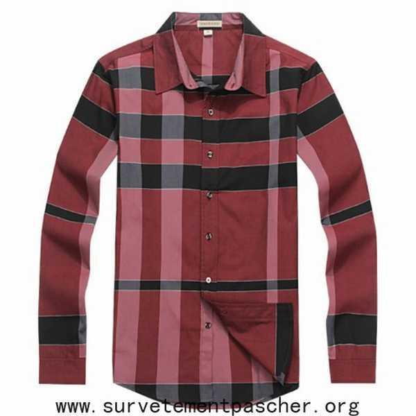 c1598dba77c reconnaitre fausse chemise burberry